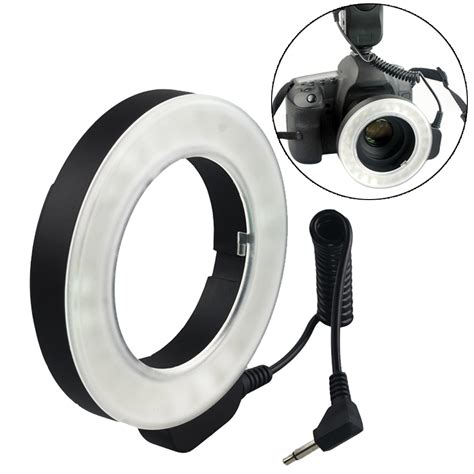ring light for video camera w48 microscope photography ring flash lens video camera