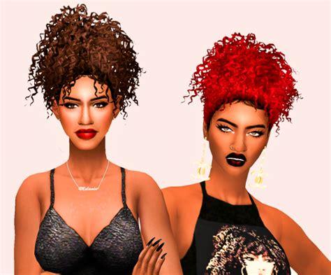 ebonix hair sims 4 moesha ebonix hair nathys sims
