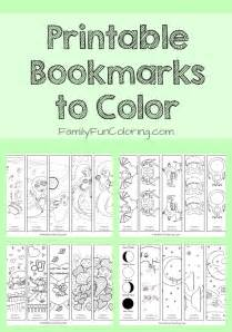 printable bookmarks to color free coloring pages of happy birthday bookmarks