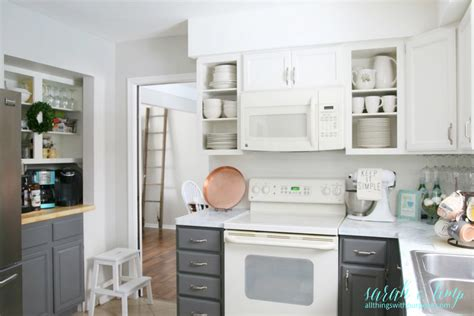 Shiplap Kitchen Backsplash Remodelaholic Diy Budget Friendly White Kitchen