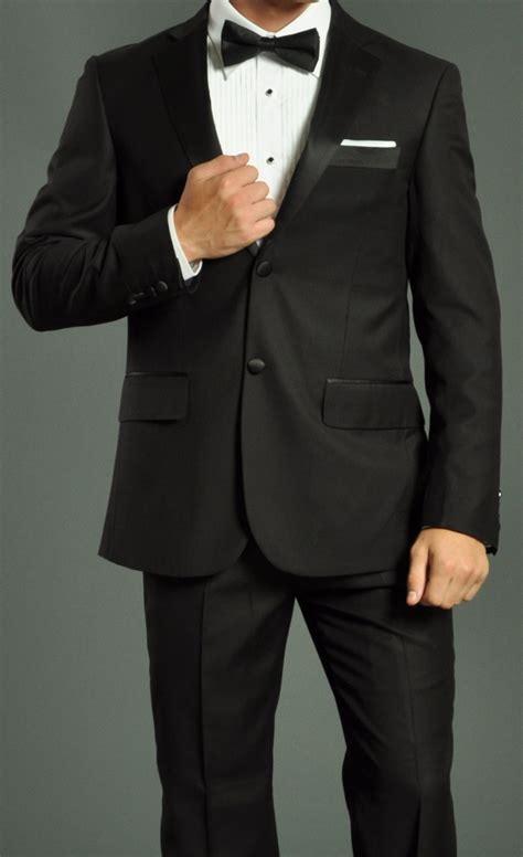 Advanced Home Network Design by Men S Two Button Black Fellini Tuxedo Suit Men S Suits