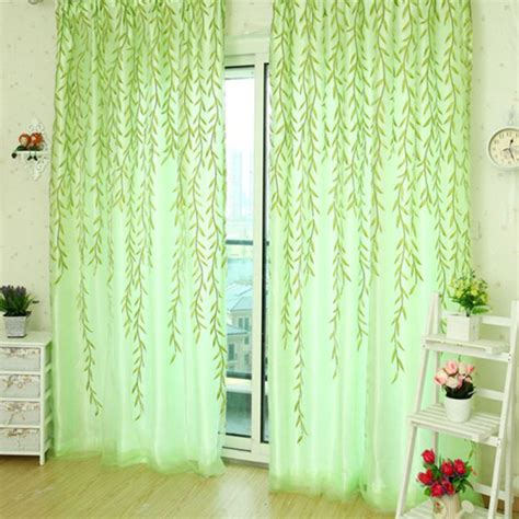 curtains and blinds 4 homes discount code 1x2m home textile tree willow curtains blinds voile tulle