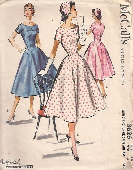 pattern engineering in fashion mccall s 3626 vintage sewing patterns fandom powered