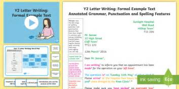 letter writing template y2 writing a letter ks1 exle texts y2 formal letter letter