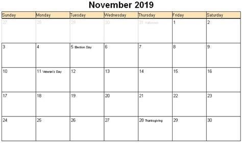 Calendar 2019 November Related Keywords Suggestions For Nov 2019 Calendar