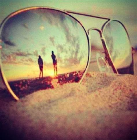 love how artsy it is but i would need different colors sunglasses reflected beaches sunglasses on the beach