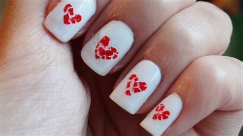 imagenes de uñas decoradas san valentin u 241 as con corazones rotos anti san valentin youtube