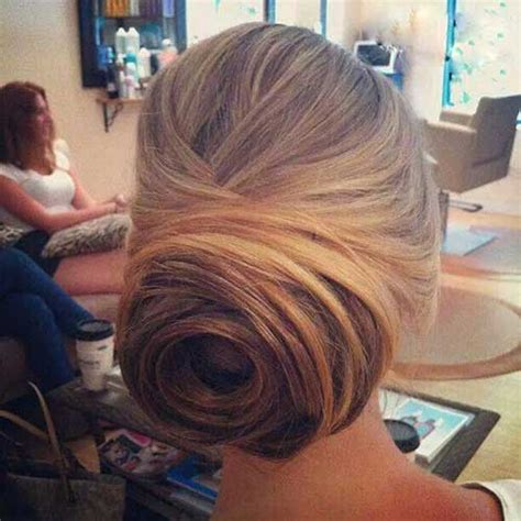 Wedding Hairstyles With A Bun by 25 Bun Wedding Hairstyles Hairstyles Haircuts