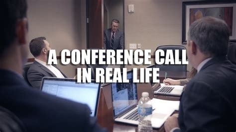 Conference Room Meme - a conference call in real life youtube