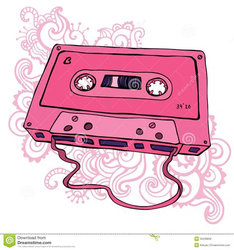 audio cassette retro cassette tape stock photo image
