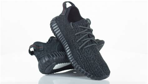 New Adidas Yeezy Boost 350 Pirate Black Premium Quality sneakers in 4k adidas yeezy boost 350 pirate black