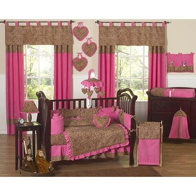 Pink Cheetah Crib Bedding Cheetah Pink Crib Bedding Collection