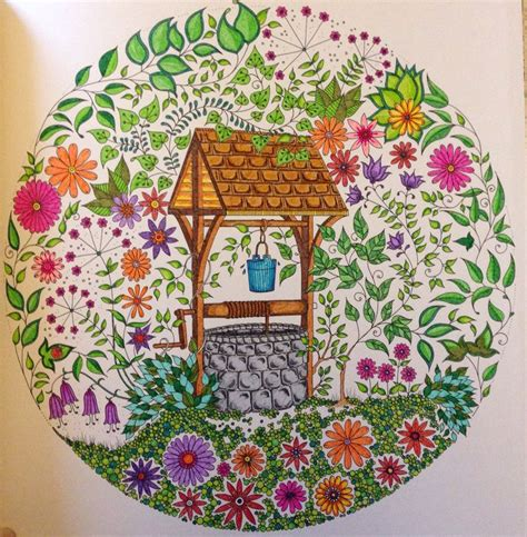 secret garden coloring book finished 1000 images about my colouring pages on the