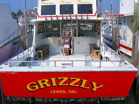 charter boat reports delaware charter boat fishing lewes grizzly sportfishing