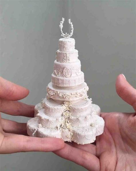 Wedding Miniature by These Miniature Wedding Cakes Are The Ultimate Wedding