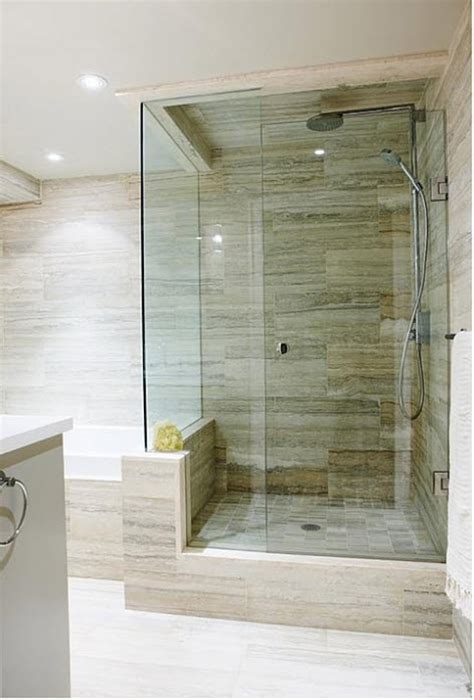 bathroom shower tile ideas traditional amazing tile vein cut silver travertine design manifestdesign manifest