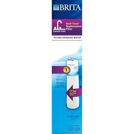 brita sink filter replacement brita redi twist sink replacement filter level 1