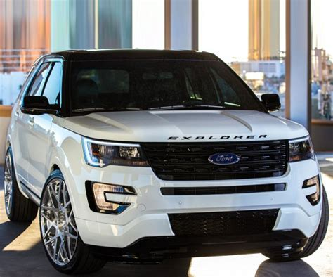 New Ford Explorer 2018 by 2018 Ford Explorer Release Date Redesign
