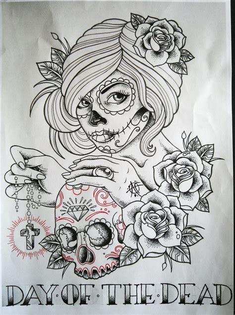 day of the dead sugar skull tattoo designs 15 best ideas about sugar skull tattoos on