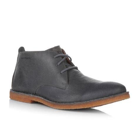 mens grey desert boots hush puppies desert ii mens wide desert boots grey buy