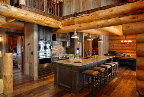 home kitchen star star prairie lake home rustic kitchen minneapolis