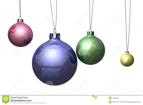 christmas spheres stock illustration image of christmas