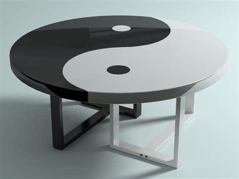 yin yang table 3d max