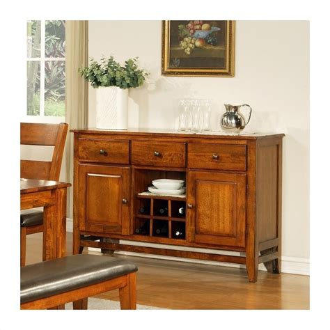 Steve Silver Company Mango Server In Light Oak Go500sbk Light Oak Buffet Server