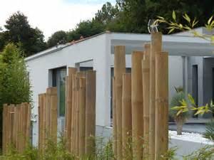 r 233 alisation d une palissade bois ou bambous sur le bassin