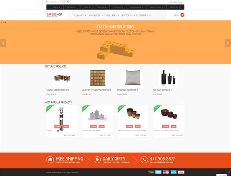 templates bootstrap frontend ecommerce rad bootstrap front end for kartris on behance