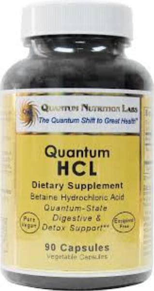 Betaine Hcl Detox by Quantum Nutrition Labs Hcl Digestive Care Green Store