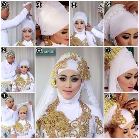 tutorial hijab kondangan modern tutorial jilbab modern modis terbaru terbaru 2015 new