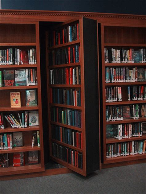 Sliding Bookcase Murphy Bed Hack Amp Slash On The Thursday Trick 10 Basic Secret Doors