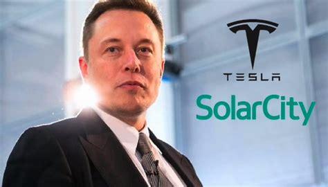 Tesla Company Owner Solarcity Is Now The Property Of Tesla Motors
