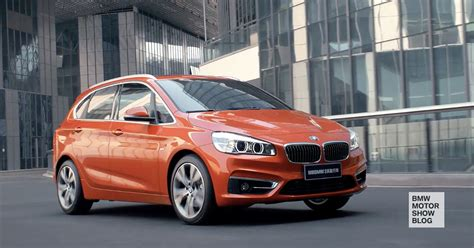 bmw in china only in china bmw 2 series active tourer in valencia orange