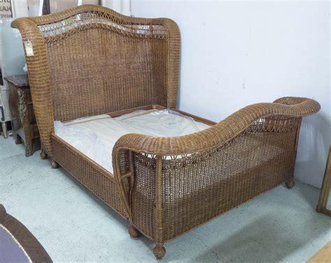 ralph lauren conservatory bedding ralph home conservatory wicker carriage sleigh bed 200cm x 250cm x 170cm approx