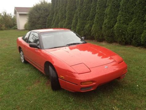 how to sell used cars 1992 nissan 240sx electronic valve timing sell used 1992 nissan 240sx base hatchback 2 door 2 4l in easton pennsylvania united states