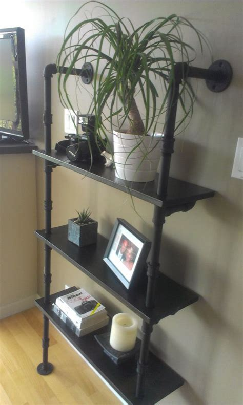 pipe shelves future home projects