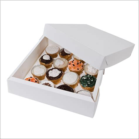 Box Cupcakes custom cupcake boxes manufacturer cup cake packaging