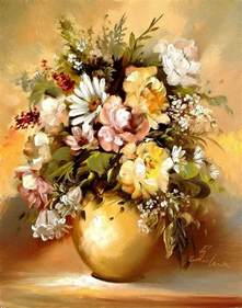 paintings of flowers 20 beautiful bouquet and flower oil paintings by szechenyi szidonia