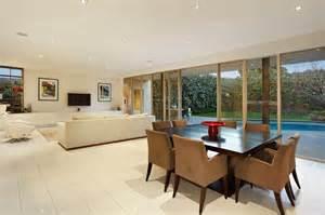 Modern Living Room And Dining Room Together Hogares Frescos Interesantes Detalles Modernos