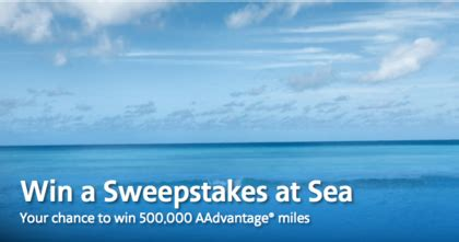 American Airlines Sweepstakes - american airlines win a sweepstakes at sea sun sweeps