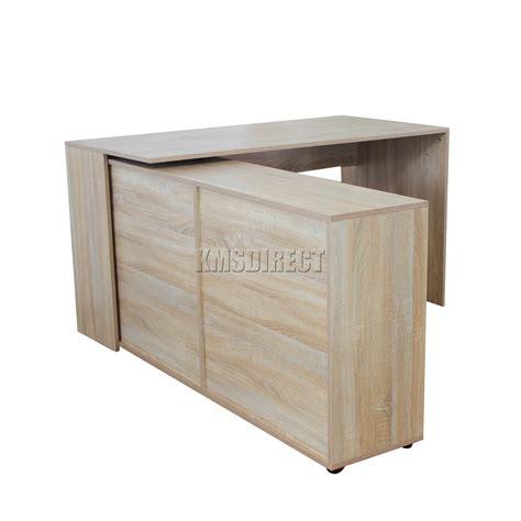 gabinete workstation westwood pc computer desk corner wooden desktop table