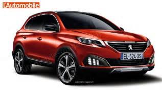 Peugeot News 2016 New Generation Peugeot 3008 Coming Autos World