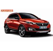 The French Car Manufacturer Peugeot In Crossover Class With New