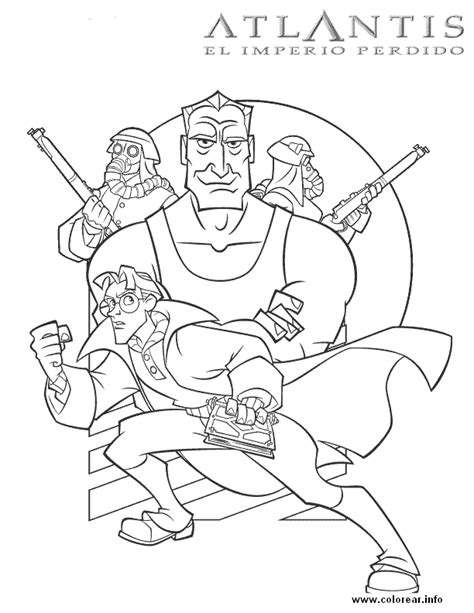 Poster Atlantis Printable Coloring Pages For Kids Printable Coloring Posters