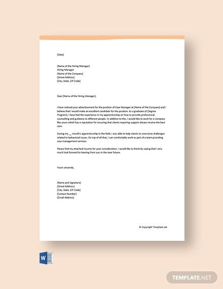 entry level physical therapist cover letter template