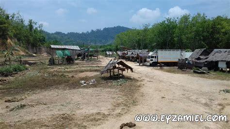 pengalaman naik gajah  krabi thailand blog eyzamiel