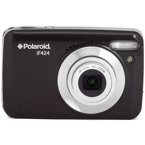 black polaroid polaroid if424 digital black if424 blk int b h photo