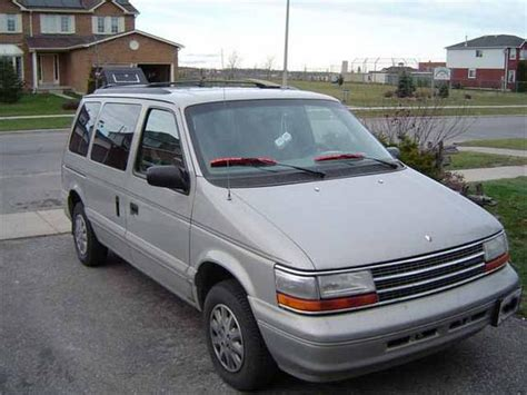 old car manuals online 1994 plymouth voyager electronic throttle control rangerdaverf 1994 plymouth voyager specs photos modification info at cardomain